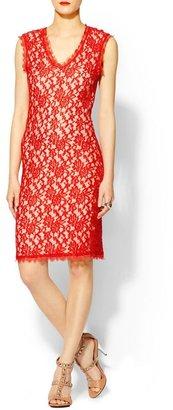Pim + Larkin Lace Body Con Dress