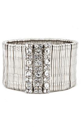 Cara Accessories Silver Shine Bracelet