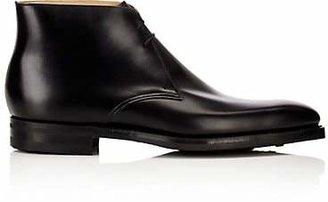Crockett Jones Crockett & Jones Men's Tetbury Leather Chukka Boots - Black