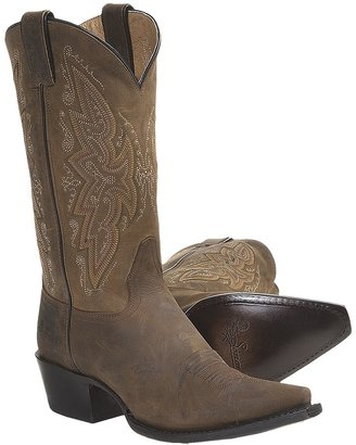 """Sonora Leather Cowboy Boots - 11"""", Snip Toe (For Women)"""