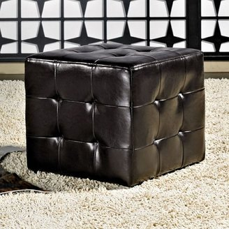 Bentley Abbyson living cubed ottoman
