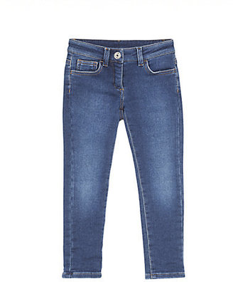 Gucci Little Girl's Denim Leggings