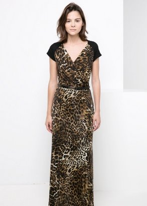 MANGO Leopard Gown