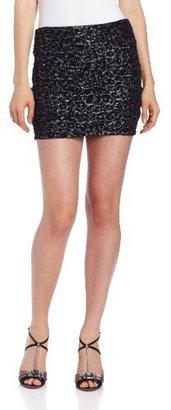 Amy Byer A. Byer Juniors Print Pucker Knit Skirt