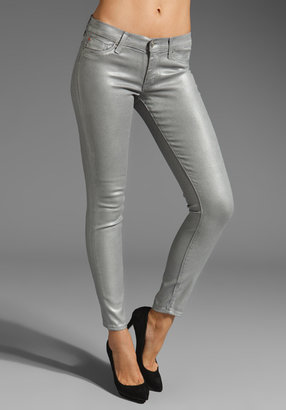 Hudson Jeans Metallic Krista Super Skinny
