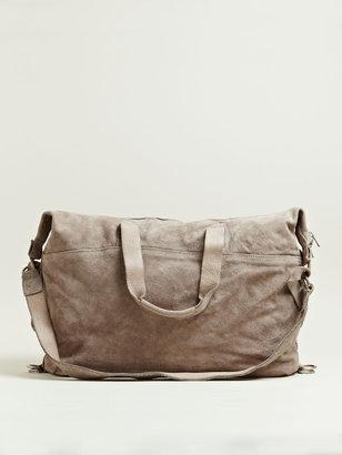 Men's Reverse Horse Leather Travel Bag