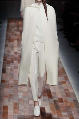 Valentino Tapered wool and silk-blend pants