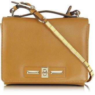 Valentino Brown Leather Shoulder Bag