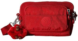 Kipling Multiple Belt Crossbody Bag (Cherry T) Messenger Bags