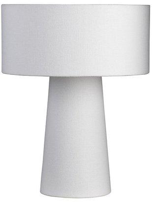 Crate & Barrel Lite White Shade Lamp