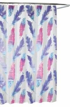 Moda Painted Plume Shower Curtain