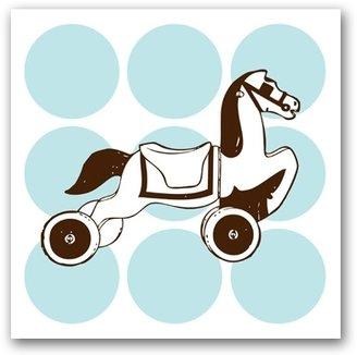 Retro Rolling Horse