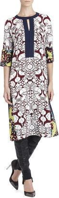 BCBGMAXAZRIA Runway Margita Silk Dress