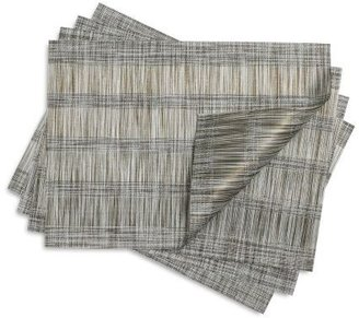 Chilewich Fringe Stripe Brindle Placemat