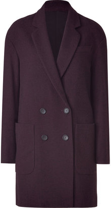 See by Chloe Red Wine Double Breasted Coat