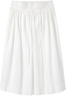 Apiece Apart / shirred freja skirt