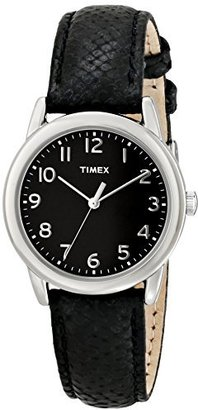 Timex Women's T2P0809J Analog Display Analog Quartz Black Watch $29.99 thestylecure.com