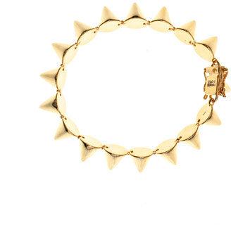 Eddie Borgo Gold cone bracelet