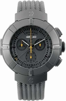 Charriol Celtica Grey Dial Chronograph Men's Watch