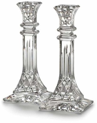 "Waterford Lismore 10"" Candlestick, Set of 2"