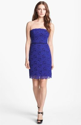 Diane von Furstenberg 'Walker' Lace Tube Dress