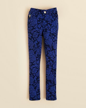GUESS Girls' Skinny Floral Jeans - Sizes 7-16