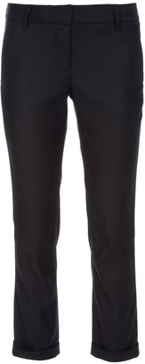 L'Agence cropped trouser