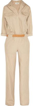 Maison Martin Margiela Cotton and silk-blend jumpsuit