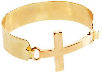 Asos Chunky Cross Torque Bracelet