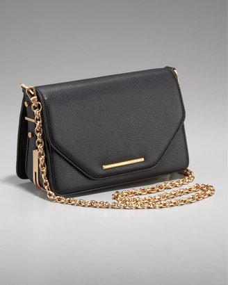 Rachel Zoe Charlotte Chain-Strap Bag, Black