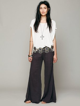 Free People FP ONE Solid Gauze Hippie Pant
