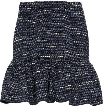 Moschino Cheap & Chic Moschino Cheap and Chic Ruffled tweed mini skirt