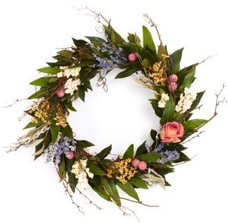 Sur La Table Rose and Twig Wreath