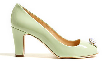 Moschino Cheap & Chic Bow Front Peep-toe Heels