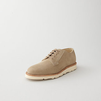 Steven Alan suede wedge oxford
