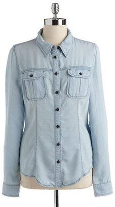 GUESS Natalie Chambray Shirt