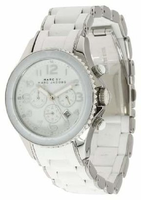 Marc by Marc Jacobs Women's MBM2545 Rock Classic Chronograph White Watch