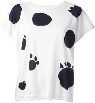 Tsumori Chisato Cats By printed T-shirt