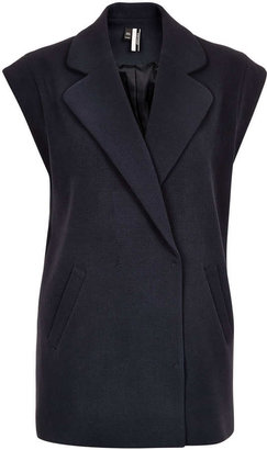 Topshop Double Breasted Waistcoat