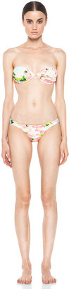 Zimmermann Brightside Floating Wire Bikini with Low Pant in Floral