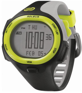 Soleus Watches P.R. Black with Electric Green #SR008-052