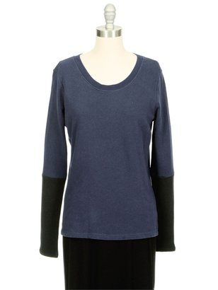 Aiko WEEKEND Miller Colorblock Sweatshirt Tee