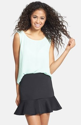 Haute Society Ruffle Skirt (Juniors) (Online Only)