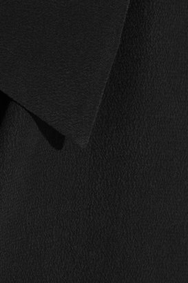 Equipment Slim Signature washed-silk top
