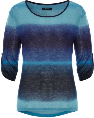 George Ombre Stripe Jersey Top