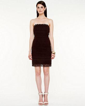 Le Château Lace Strapless Dress