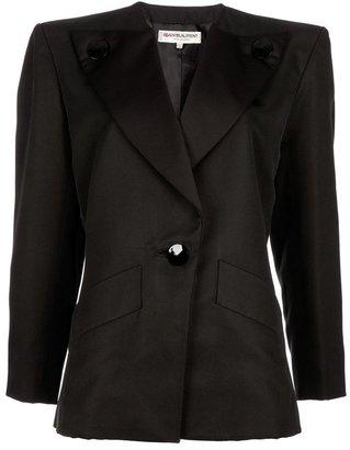 Yves Saint Laurent Vintage Button lapel jacket