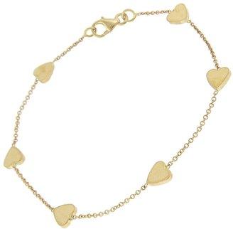 Jennifer Meyer Heart by the Inch Chain Bracelet - Yellow Gold