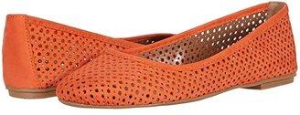 French Sole League (Navy Nubuk) Women's Flat Shoes