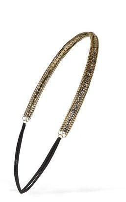 Forever 21 rhinestone chain headband